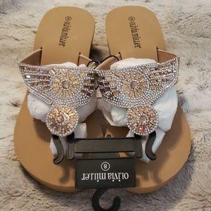 NWT - Sunburst Sandals